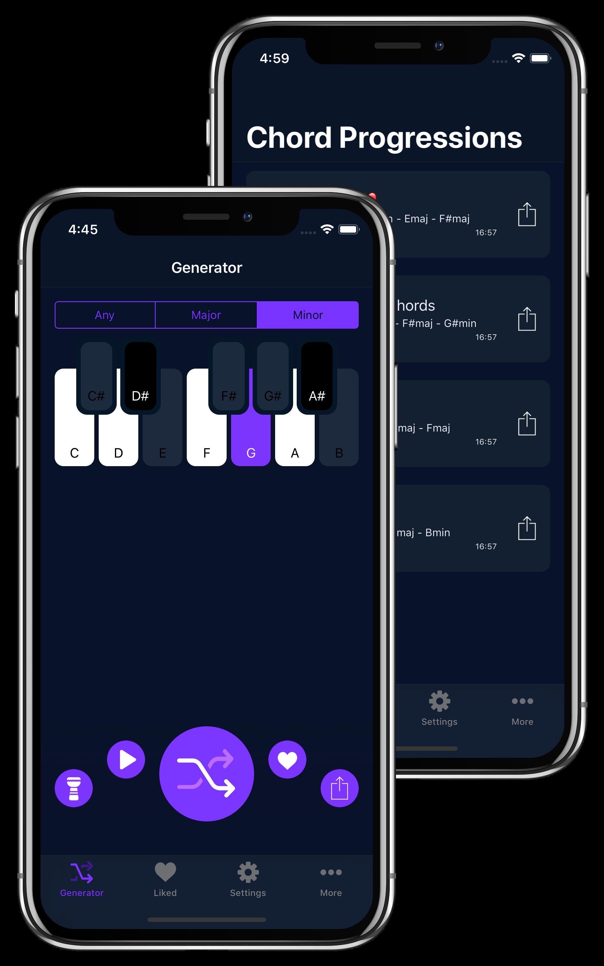 Chord Progression Generator App